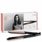 BaByliss Straight and Curl Brilliance Rose-Gold Hair Straightener