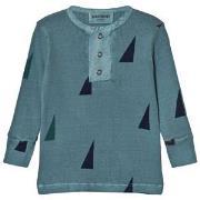 Bobo Choses Baby Buttons T-Shirt Sails 3-6 mnd