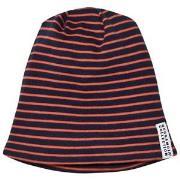 Geggamoja Topline Fleece Marine/Orange Baby) (2-6 mnd)