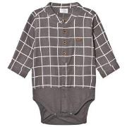 Hust&Claire Shirt Baby Body Brown 92 cm (1,5-2 år)