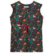 Anïve For The Minors Black Babylon Print Dress 1-2 år