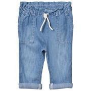 GAP Light Wash Drawstring Denim Jeans 18-24 mnd