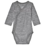 Hust&Claire Bonno Baby Body Grey 50 cm (0-1 mnd)