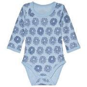 Hust&Claire Baloo Baby Body Blue 56 cm (1-2 mnd)