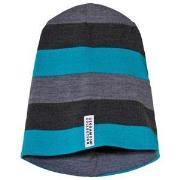 Geggamoja Wool Hat Grey/Blue XS (1-2 år)