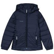 Bergans Dark Navy Rena Down Youth Puffer Jacket 128 cm (7-8 år)