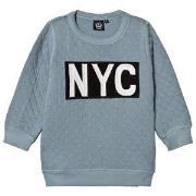 Petit by Sofie Schnoor Blue NYC Sweatshirt 116 cm