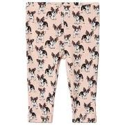 Petit by Sofie Schnoor Pink French Bulldog Leggings 74 cm
