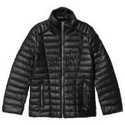 Guess Black Pleather Padded Jacket 7 years