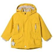 Mini A Ture Wille Jacket Bamboo Yellow 122 cm (6-7 år)