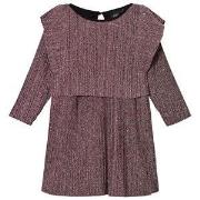 Petit by Sofie Schnoor Purple Glitter Dress 104 cm