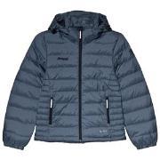 Bergans Navy Down Youth Girl Puffer Jacket 128 cm (7-8 år)