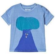 Bobo Choses Tree Short Sleeve T-Shirt Heritage Blue 18-24 mnd