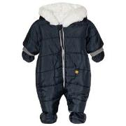 Absorba Hooded Coverall Navy 1 month
