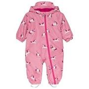 Hatley Pink Majestic Unicorns Microfiber Coverall 9-12 months