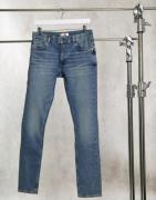 Tommy Hilfiger x Lewis Hamilton back logo slim fit jeans in washed ind...